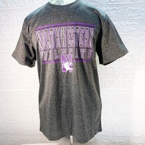 Boys Northwestern Wildcats dry fit T-shirt